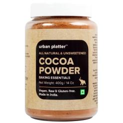 Urban Platter Natural Cocoa Powder, 400g