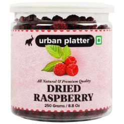 Urban Platter Dried Raspberry, 250g