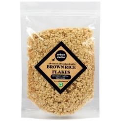 Urban Platter Brown Rice Flakes, 1Kg / 35.2oz [Roasted, Brown Rice Poha, Crunchy]