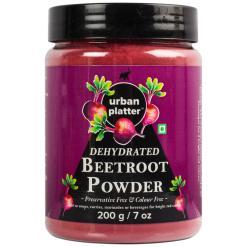 Urban Platter Dehydrated Beetroot Powder, 200g [Anti-oxidant & Fiber-rich]