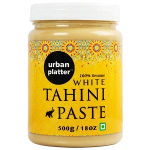 Urban Platter White Tahini Paste, 500g [100% Pure Sesame + Pate de Sesame]