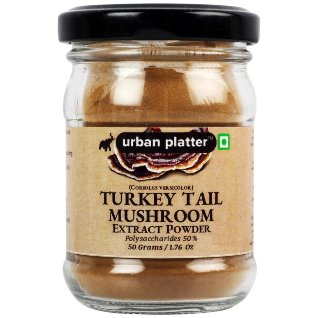 Urban Platter Turkey Tail Mushroom Extract Powder, 50g