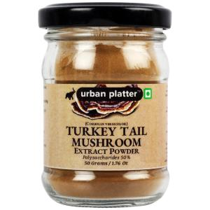 Urban Platter Turkey Tail Mushroom Extract Powder, 50g / 1.76oz [Coriolus Versicolor, Antioxidant, Superfood]