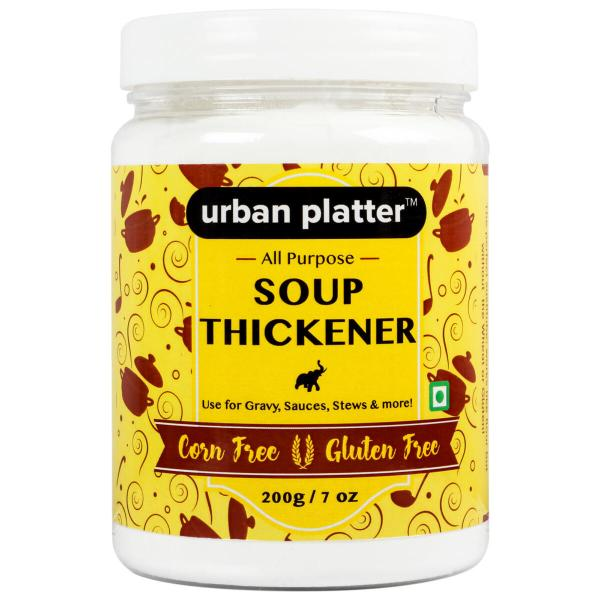 Urban Platter Professional All Purpose Soup Thickener, 200g / 7oz [Corn-free, Gluten-free, Great for Soups, Stews & Gravy]