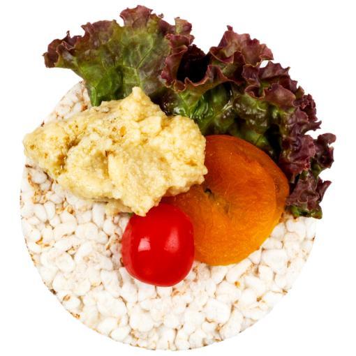 Urban Platter Organic Puffed Big Tri-Rice Cakes, 125g