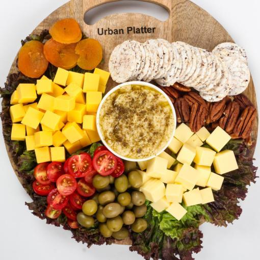 Urban Platter Organic Puffed Cinnamon and Brown Mini Rice Cake Thins, 100g