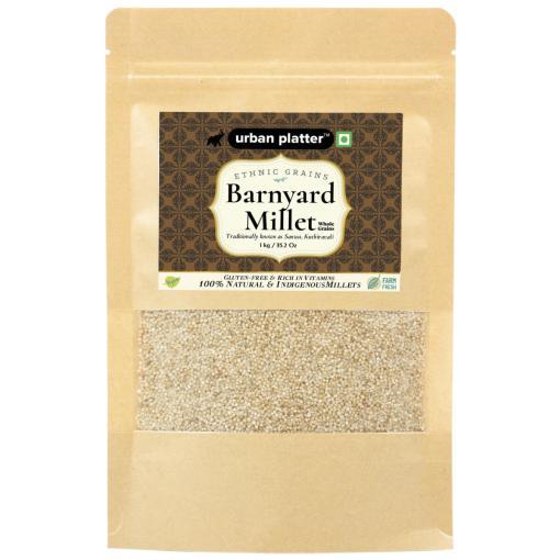 Urban Platter Barnyard Millet (Kuthiravali), 1Kg / 35.2oz
