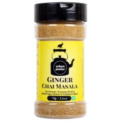Urban Platter Chai Masala, Ginger (Sunth), 70g / 2.4oz [Spice Blend For Extraordinary Tea Experience, Taste Enhancer]