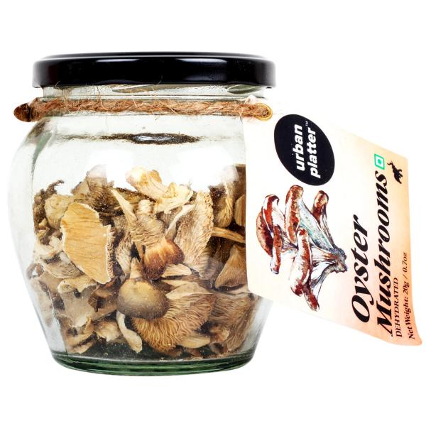 Urban Platter Dried Oyster Mushrooms, 20g