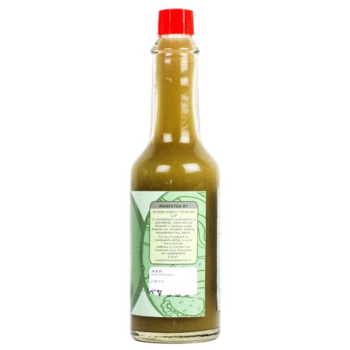 Urban Platter Green Jalapeno Sauce, 57ml [Tangy Hot Sauce]