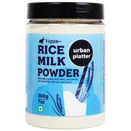 Urban Platter Vegan Rice Milk Powder, 200g / 7oz [Creamy, and Sweet Dairy-free Milk Alternative]