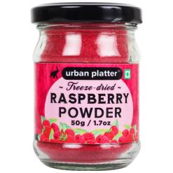 Urban Platter Freeze-Dried Raspberry Powder, 50g