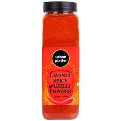 Urban Platter Lavangi Spicy Chilli Powder Shaker Jar, 350g / 12oz [Hot'n'Spicy]