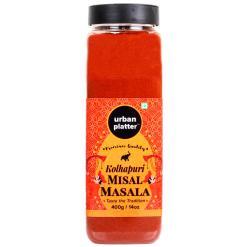 Urban Platter Kolhapuri Misal Masala Shaker Jar, 400g / 14oz [Hot'n'Spicy]