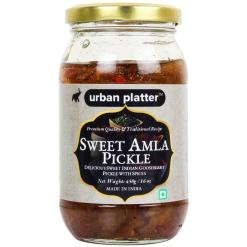 Urban Platter Sweet Amla (Gooseberry) Pickle, 450g / 16oz [Amla Aachar, Avla, Traditional Recipe]
