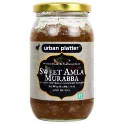 Urban Platter Sweet Amla Murabba, 450g / 16oz [Sweet Indian Gooseberry, Flavorful, Premium Quality]
