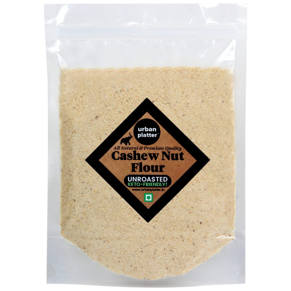 Urban Platter Unroasted Cashew  Nut Flour, 1Kg / 35.2oz [Keto-Friendly]
