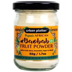 Urban Platter Organic African Baobab Fruit Powder, 50g / 1.7oz [Rich in Vitamin C, Tree of Life]
