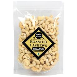 Urban Platter Roasted Salted Bold Cashew Nuts, 400g [All Natural and Grade-W240, Lightly Salted]