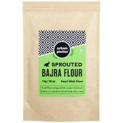 Urban Platter Sprouted Bajra Flour, 1Kg / 35.2oz [Pearl Millet Flour]