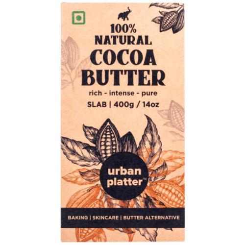 Urban Platter Pure Cocoa Butter, 400g