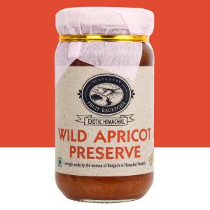 Kotgarh Fruit Bageecha Exotic Himachal Wild Apricot Preserve [Lovingly made by the women of Kotgarh in Himachal Pradesh], 225g