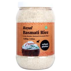 Urban Platter Royal Basmati Rice, 1.25kg / 44oz [All Natural, Aromatic & High Fiber]