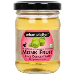 Urban Platter Monk Fruit Juice Concentrate, 125g / 4.4oz [All Natural, Zero Calorie Sweetener, Great Taste]