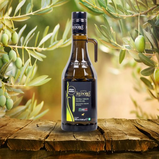 Redoro 100% Italian Cold Pressed Extra Virgin Olive Oil, 500ml [Made in Italy]