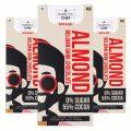 A Diabetic Chef Crunchy Roasted Almond Belgian 55% Vegan Dark Chocolate, 40g [Pack of 3, Diabetic Friendly, 0% Sugar]