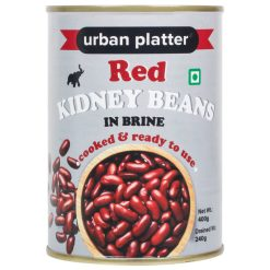 Urban Platter Red Kidney Beans (Rajma) in Brine, 400g (Drained Weight 240g)