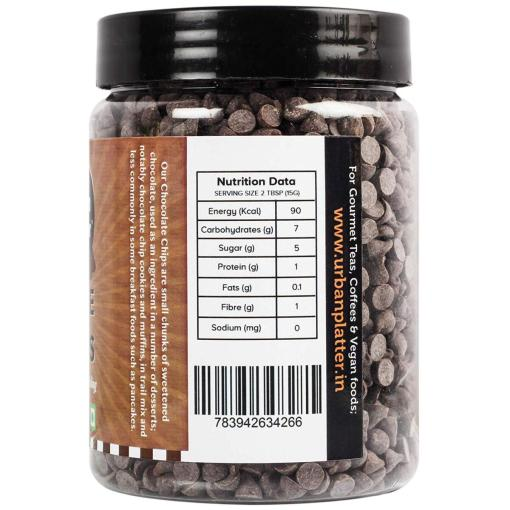 Urban Platter Dark Chocolate Chips, 350g / 12.3oz