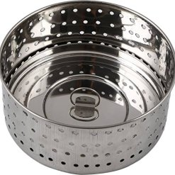 Urban Platter 100% Stainless Steel Paneer/Stainer Mould With Top Press Lid, 550 ml, Size 5