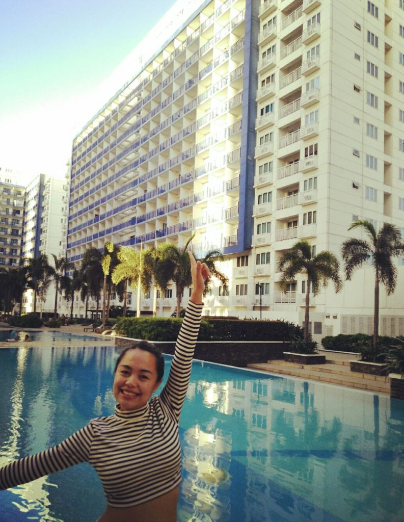 KC Allaga Tungod, Sun Residences, staycation, MOA complex