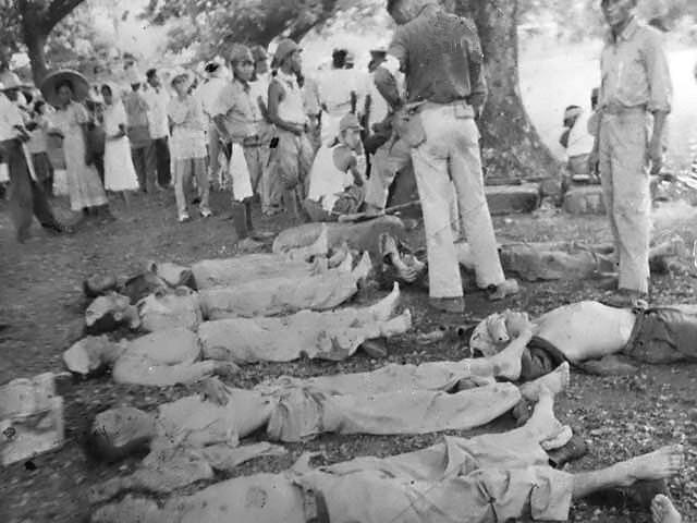 Bataan Death March, Dead Soldiers