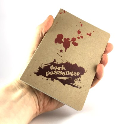 Dark Passenger notebook, handheld