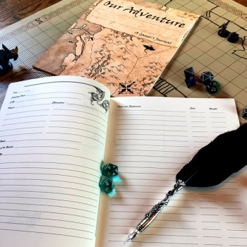 Short adventure journal