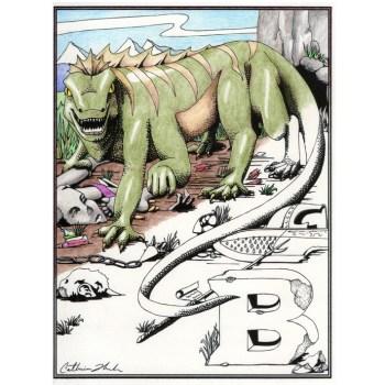 Basilisk poster and cards