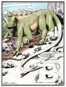 Basilisk card and posters