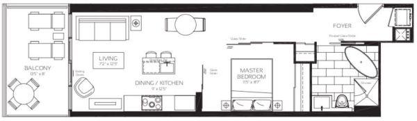 488 University Ave - Collins Floorplan - Call Yossi Kaplan