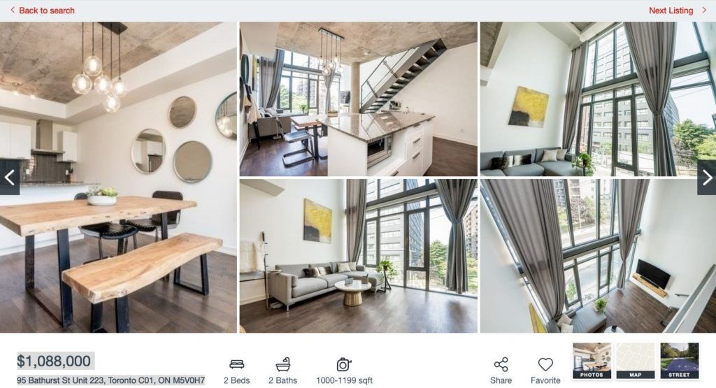 95 bathurst St 650 King - 2 Bedroom Condo for Sale - Contact Yossi Kaplan