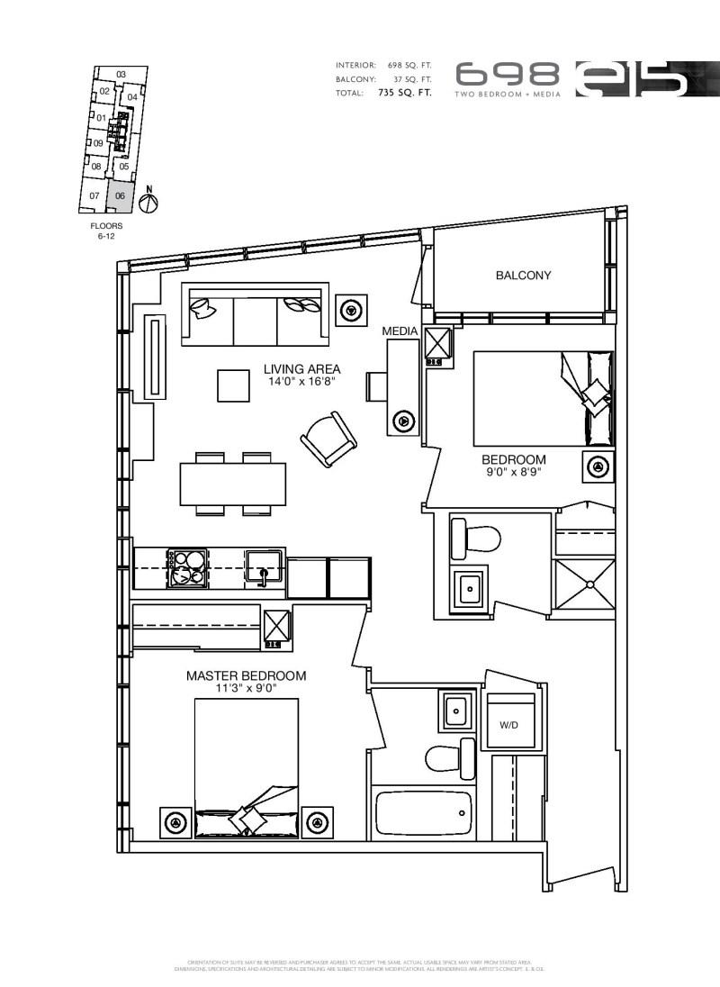 E condos for sale at yonge and eglinton for 2 bedroom condo for sale toronto