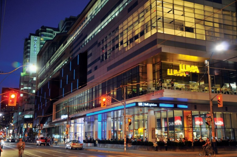 FESTIVAL TOWER CONDOS FOR SALE - TIFF BELL LIGHTBOX