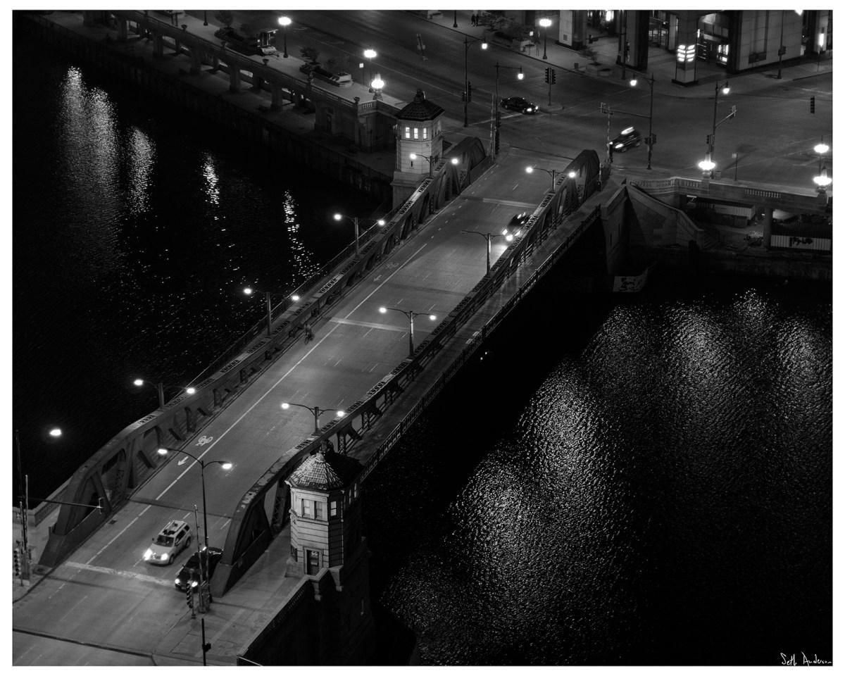 Franklin Street Bridge at NightFranklin Street Bridge at Night