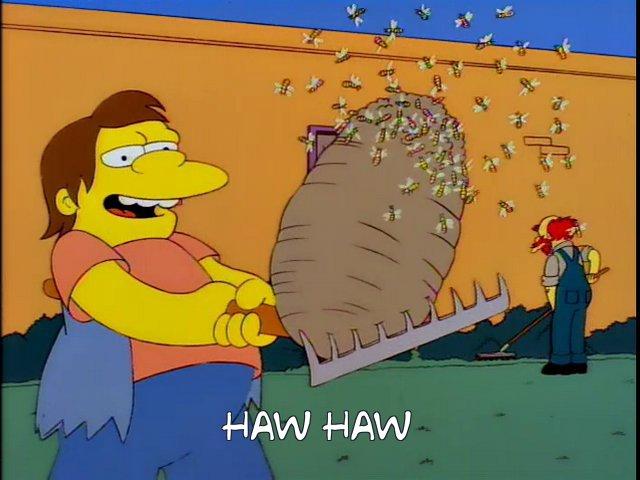 Nelson Muntz - Haw Haw