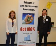 Our Marketing Director Vanesa Diaz -100 Percent Commission - Join Urban Select Realty