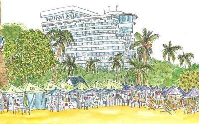 Marleen Dambrink en het strand van Hua Hin – Thailand