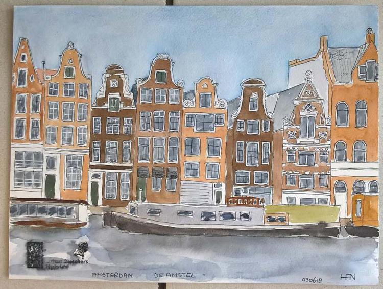 Sketch Weekend Amsterdam – de tekeningen