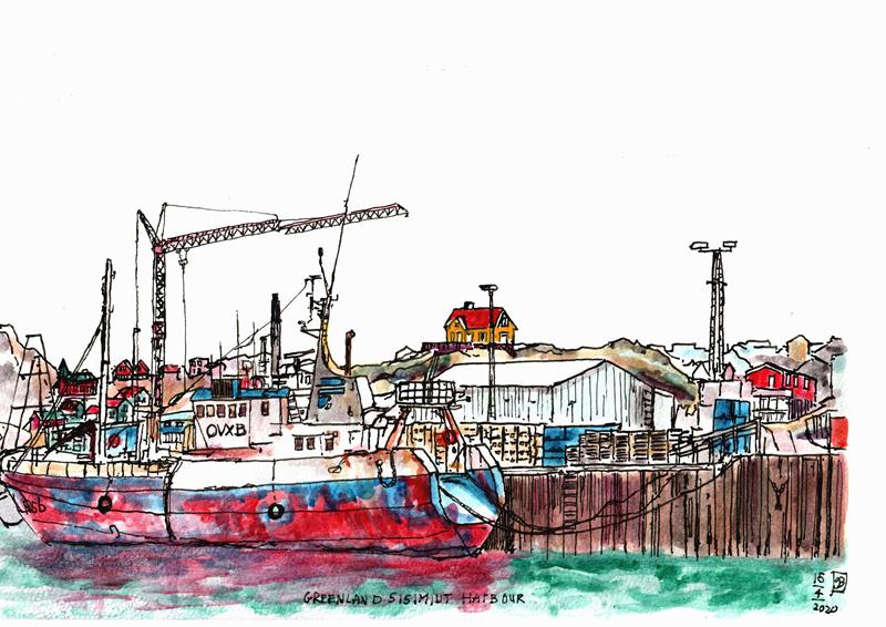Urban Sketching in tijden van Corona: Gerard Beekman