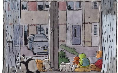 Urban Sketching in tijden van corona: Roger Klaassen